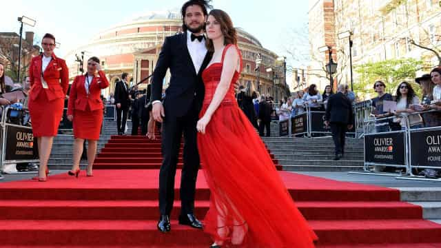 Kit Harrington e Rose Leslie já casaram