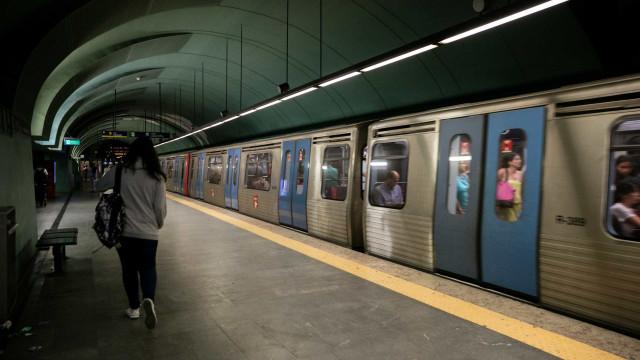 Trabalhadores do Metro de Lisboa em greve parcial na próxima quinta-feira