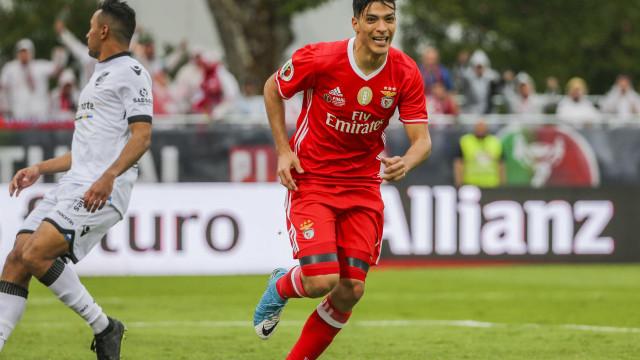 """""""Sair? Tenho contrato com o Benfica e apresento-me dia 22 de julho"""""""
