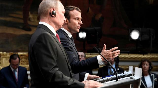Rússia terá usado Facebook para tentar espiar campanha de Macron