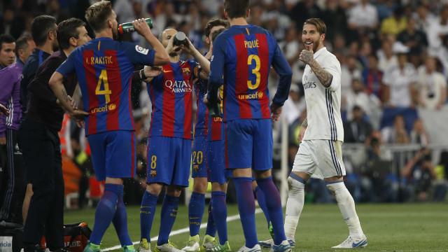 Sergio Ramos não gostou da publicação de Piqué sobre a Catalunha
