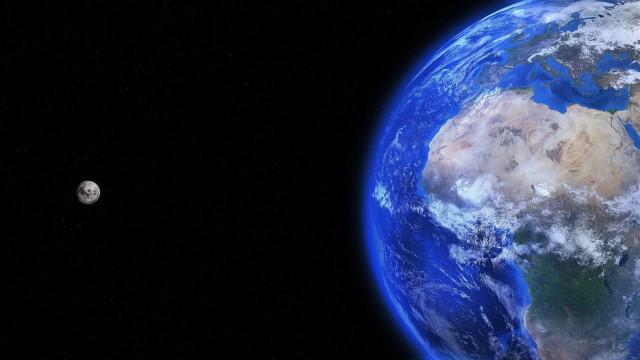 É assim o planeta Terra a 63,6 milhões de quilómetros de distância