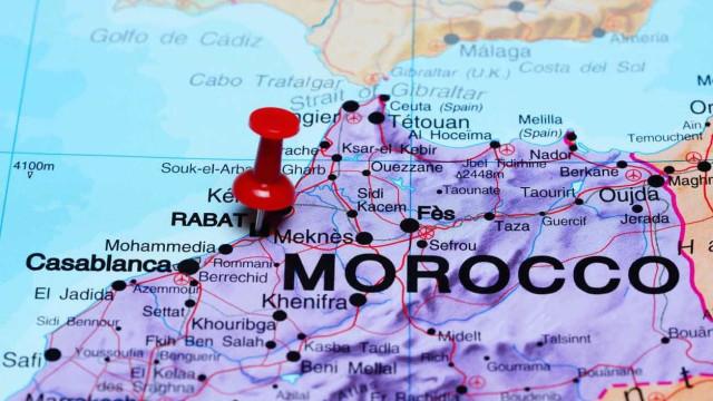 Vaga de frio e queda de neve que fustiga a Europa chega a Marrocos