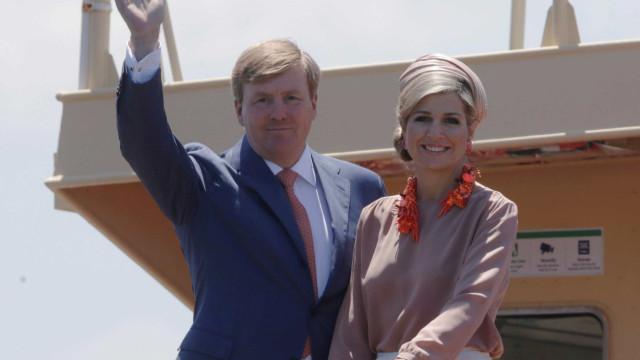 Rei dos Países Baixos quer aprofundamento das relações com Portugal
