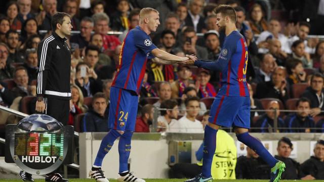 L'Équipe: Negociações entre Sporting e Mathieu seguem a bom ritmo