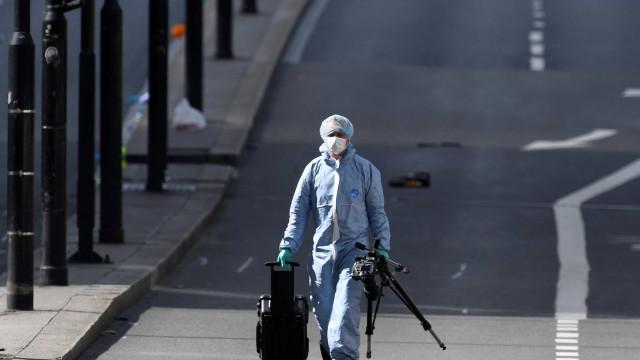 Encontrados engenhos explosivos na carrinha usada no ataque de Londres