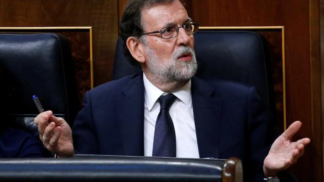 """Rajoy afirma que resposta ao """"desafio"""" catalão é proporcional e adequada"""