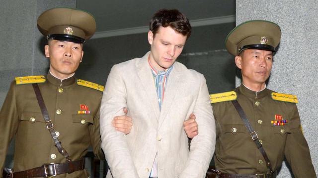 Pyongyang nega ter torturado norte-americano Otto Warmbier