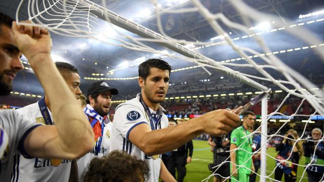 """""""Álvaro continua a marcar golos como sempre fizeste. Não esperamos menos"""""""