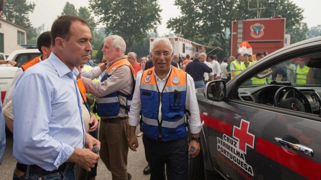Costa reúne amanhã com autarcas das zonas atingidas pelos incêndios