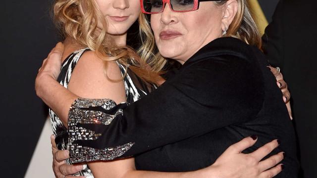 Filha de Carrie Fisher fala sobre a causa da morte da mãe