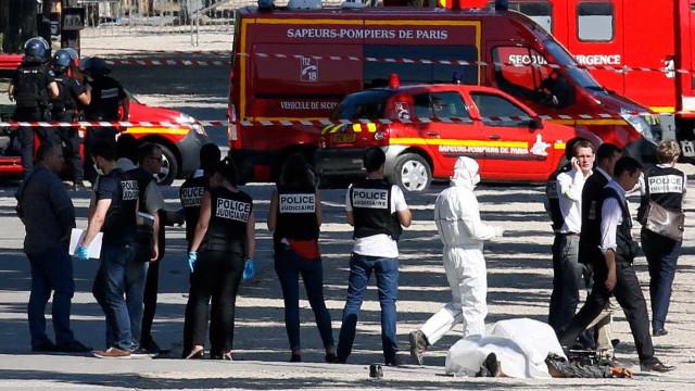 Detidos quatro familiares de atacante dos Campos Elísios