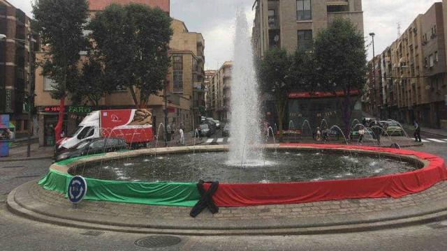 Salamanca coloca bandeira portuguesa em homenagem às vítimas
