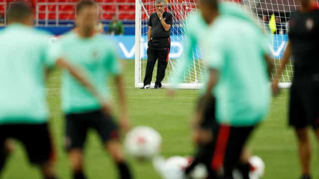 [0-0] Rola a bola no Rússia-Portugal