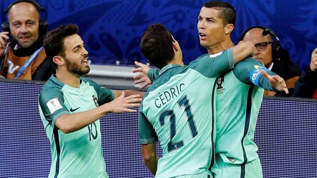 [0-1] Intervalo no Rússia-Portugal: Golo de Ronaldo faz a diferença