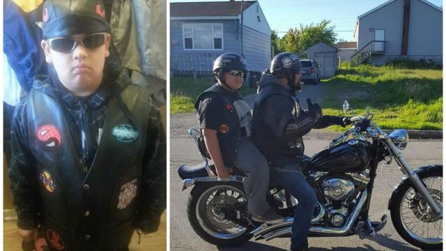 Motoqueiros juntam-se para levar menino à escola onde sofre de bullying