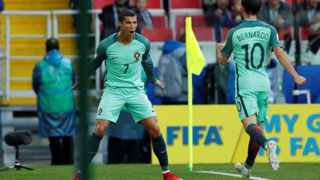 Sonho português recompõe-se pela cabeça de Cristiano Ronaldo