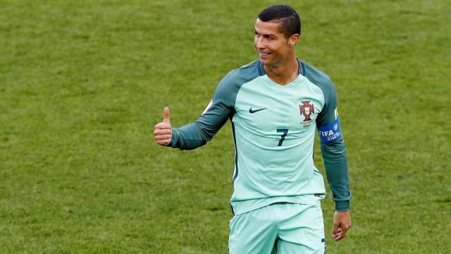 Presença de Cristiano Ronaldo em clássico chinês esgota bilhetes