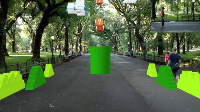 Vai querer voltar a jogar 'Super Mario' com realidade aumentada