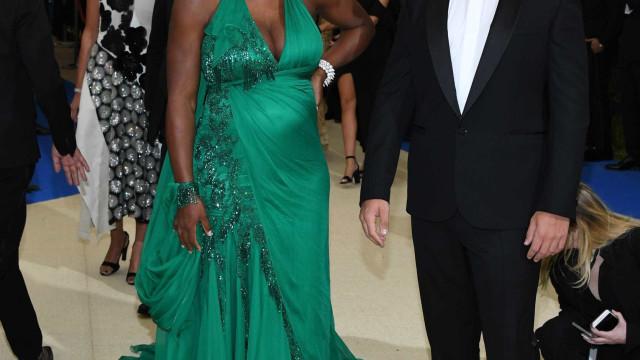 Serena Williams queria comida italiana... e o marido levou-a a Veneza