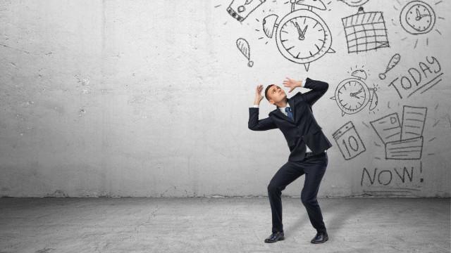 Metade das pessoas sofre de stress relacionado com o trabalho