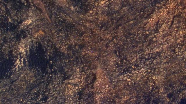 Esta imagem de Marte tem um pequeno 'segredo'. Consegue vê-lo?