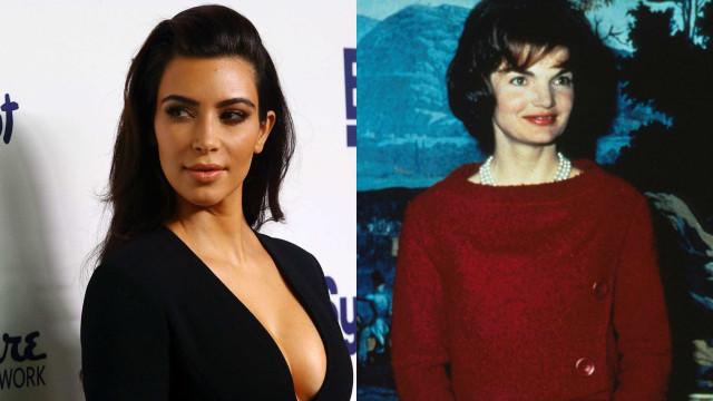 O que é que Kim Kardashian e Jackie Kennedy têm em comum?