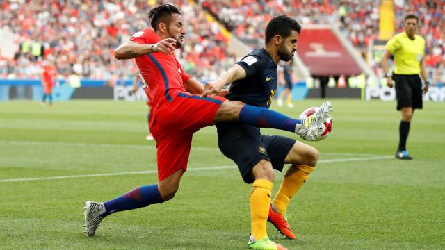 Chile será o adversário de Portugal depois de empate surpreendente