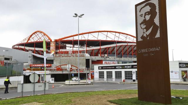 O Benfica vai jogar com o Sp. Braga no estádio da Luz