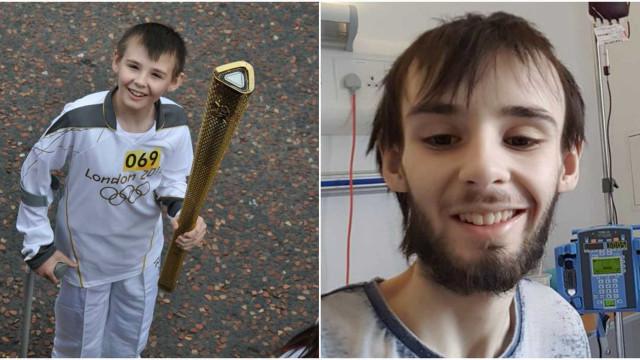 Jovem que carregou tocha olímpica perdeu batalha para o cancro