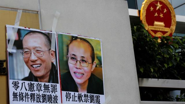Viúva do Nobel chinês Liu Xiaobo reaparece num vídeo