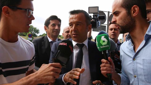 """Gestifute: Jorge Mendes """"nunca assessorou jogadores em matéria fiscal"""""""