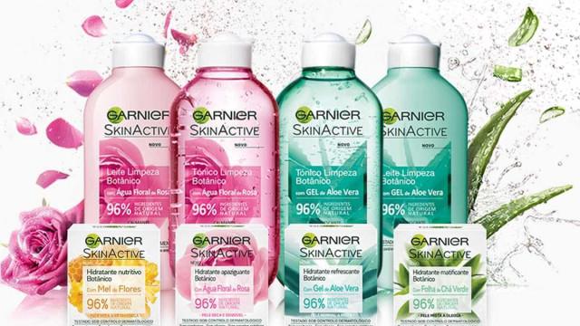 Garnier lança gama para rosto com 96% de ingredientes de origem natural