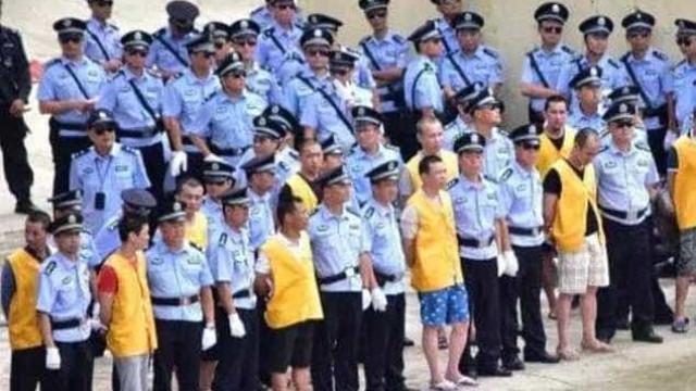 China condena 13 traficantes a pena de morte. Oito executados de imediato