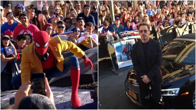Atores chegam em grande à estreia de 'Homem-Aranha'