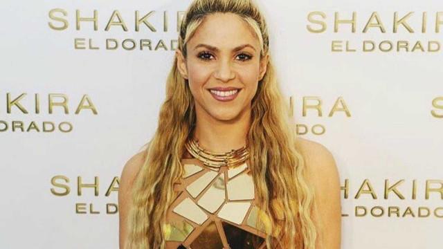 Shakira revela exercícios de preparação para a tournée