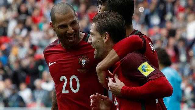 Portugal dá cambalhota tardia e é terceiro na Taça das Confederações