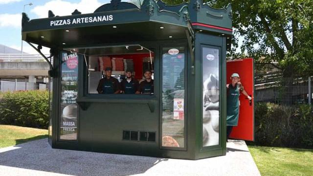 Le Kiosque à Pizzas continua 'ataque' em Portugal com novo quiosque