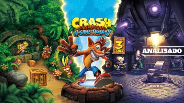 Crash Bandicoot N. Sane Trilogy: Tão bom quanto se lembra?