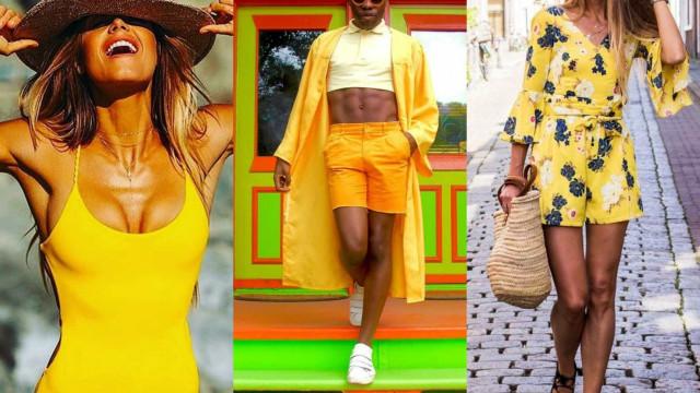 Amarelo: a cor mais quente do verão!