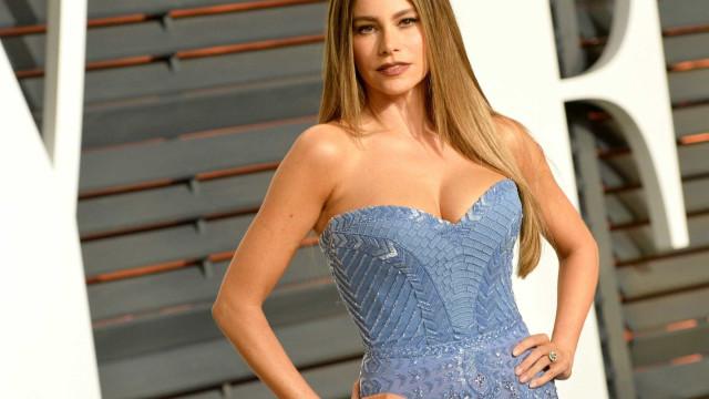 Sofia Vergara eleita pela sétima vez a atriz mais bem paga da TV