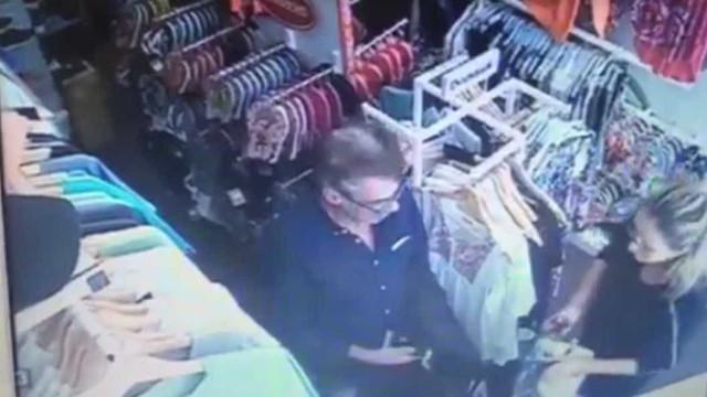 Assalto a loja na Nazaré em pleno dia. Momento ficou filmado