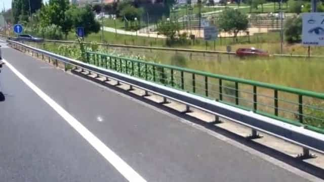 Condutores apanhados em contra-mão para fugirem ao trânsito