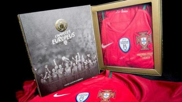 Quer uma recordação da conquista do Euro'2016? FPF dá-lhe uma ajuda