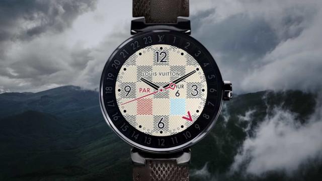 Nada o vai preparar para o preço do relógio inteligente da Louis Vuitton