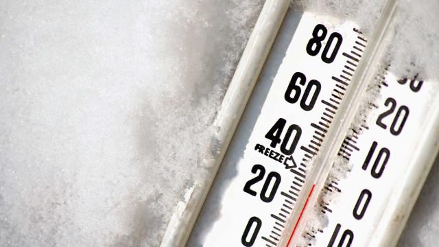 Frio, muito frio. Mínimas baixam até -5 graus, quatro distritos em alerta