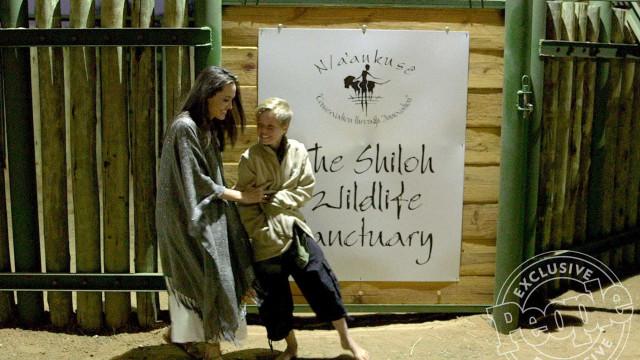 Angelina Jolie e filha Shiloh mostram o seu lado mais 'selvagem'