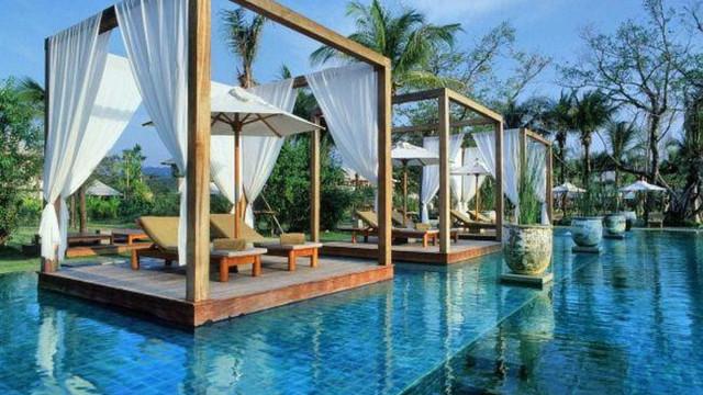 Um mergulho nas piscinas mais exóticas do mundo