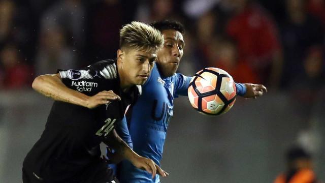 Argentinos apontam Emiliano Rigoni a Alvalade