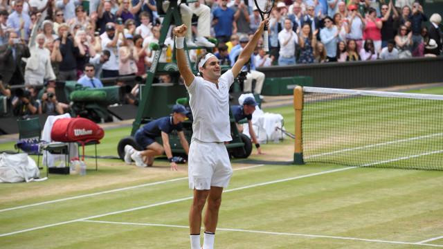 Federer derrota Cilic e conquista o seu oitavo título em Wimbledon